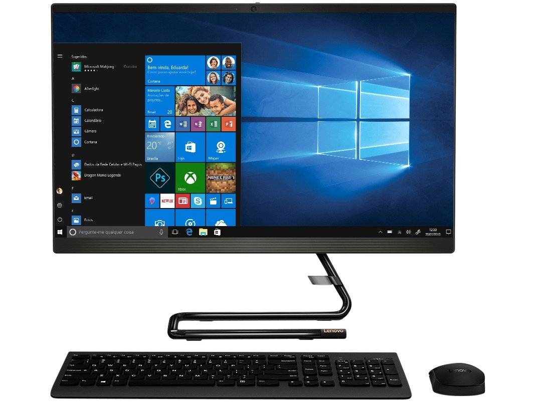 UPD ALL IN ONE LENOVO IDEACENTRE A340-24IWL (I5/4GB/1TB/23,8