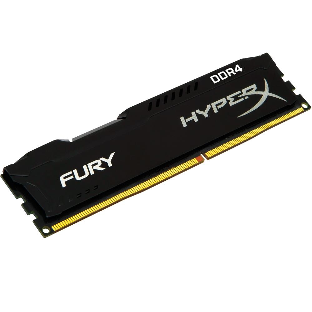 MEM DDR4 4GB/2400 HYPER X FURY BLACK (HX424C15FB/4)
