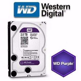 HD 2 TB SATA III WESTERN DIGITAL(PURPLE)  WD20PURZ