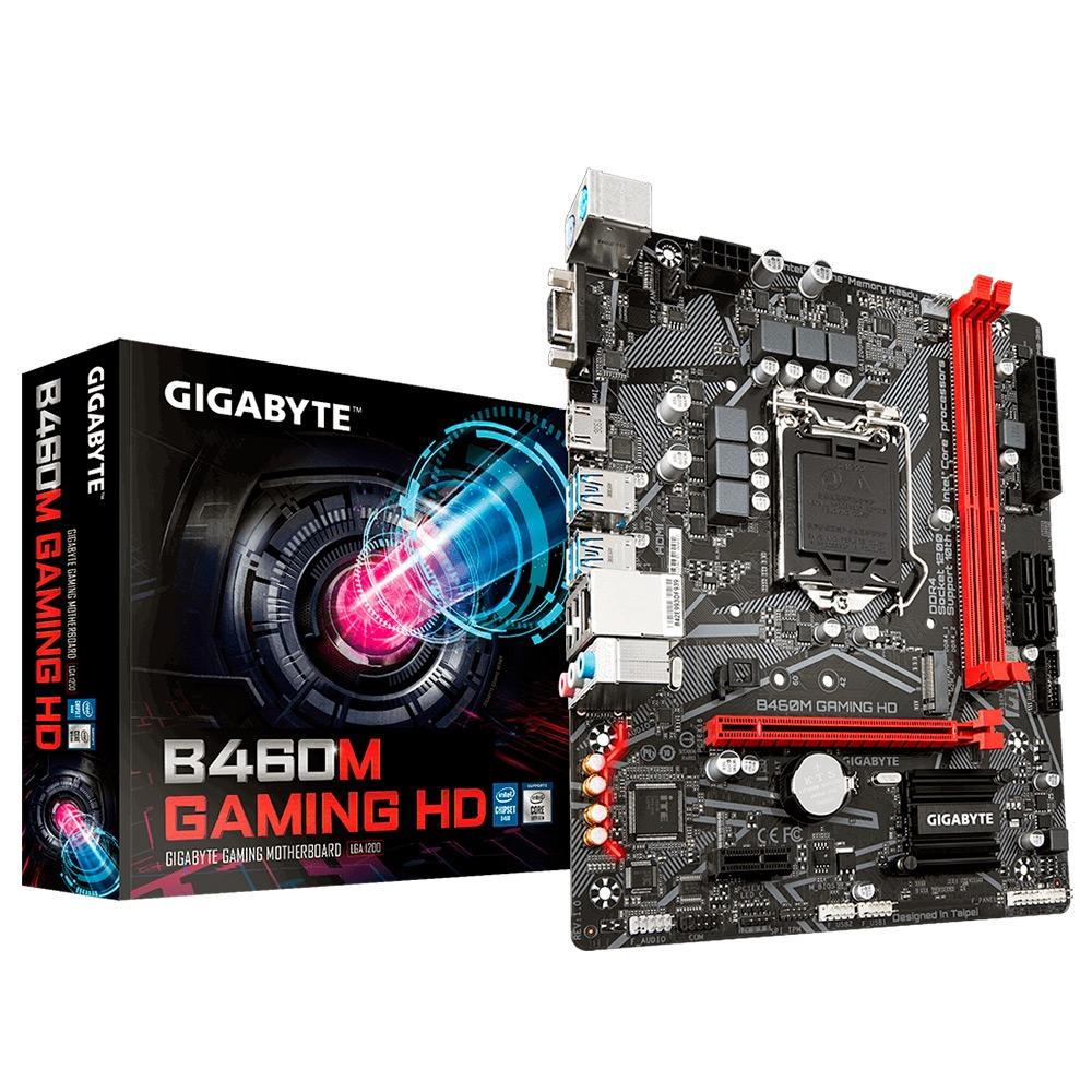 PLACA MAE LGA 1200 GIGABYTE B460M GAMING HD