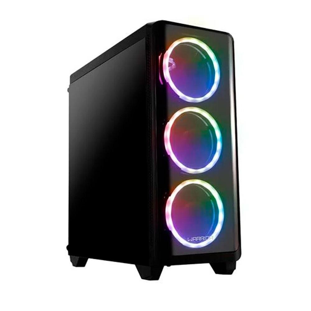 GABINETE GAMER WARRIOR MODOC, RGB (GA179)