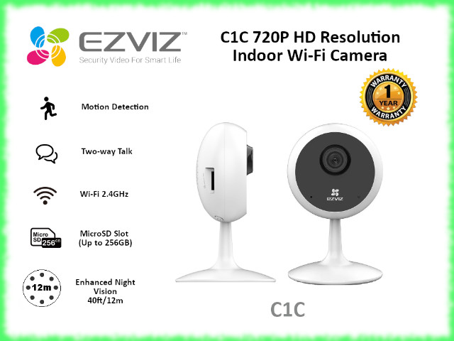 CAMERA EZVIZ SMART WI-FI (CS-C1C-D0-1D1WFR)