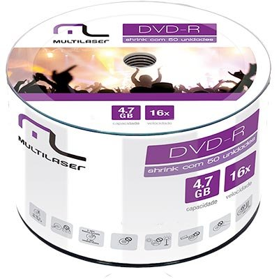 CD DVD-R 4.7GB 50 UNIDADES (DV061)