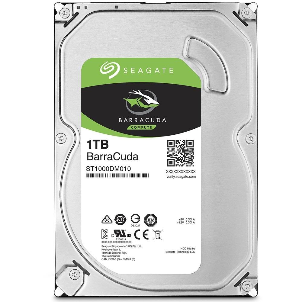 HD 1 TB SATA III SEAGATE BARRACUDA (ST1000DM010)